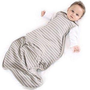 Woolino澳大利亚美丽奴羊毛睡袋 2-24 个月, 四季都适用