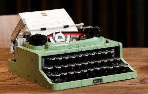 LEGO ideas系列 打字机LEGO ideas系列 打字机