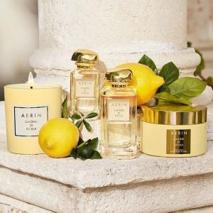 送5件小样 柠檬精的逆袭雅诗兰黛 AERIN 西西里柠檬香氛系列上新