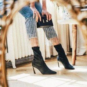 独家隔日达 收赵丽颖、程潇同款Stuart Weitzman秋冬新款踝靴上线 看看爱豆们怎么穿
