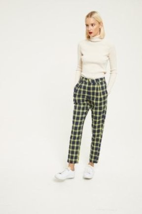 Daisy Street 格纹裤子