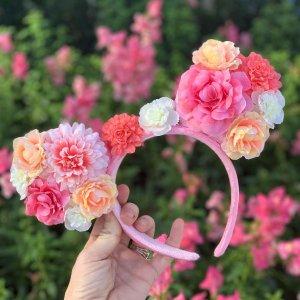 DisneyMickey Mouse Floral Ear Headband | shopDisney