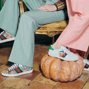3折起 麦昆小白鞋$405Farfetch 超值大童款 GG小脏鞋、Fendi、Gucci、巴黎世家
