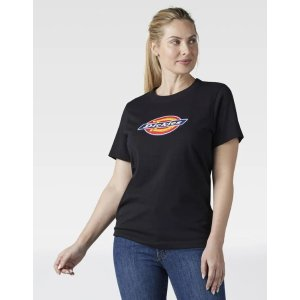 DickiesWomen's Logo Graphic Cotton T-Shirt - Dickies US, Black