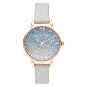 Olivia Burton渐变星空蓝手表
