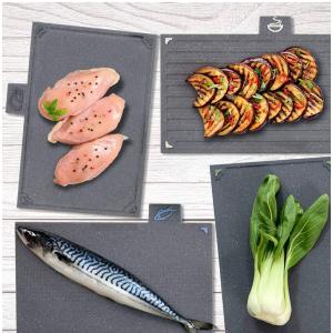 仅售24欧 熟食生鲜蔬菜分类使用更干净PROCCOK  超值组合四件套分类切菜板