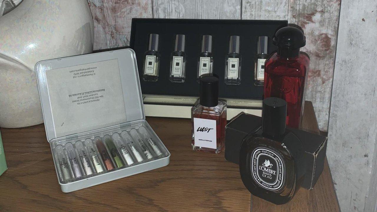 香水收藏分享