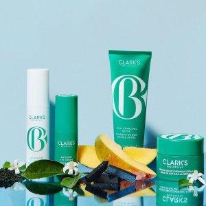 正价产品7折 套装享8.5折Clark's Botanicals 全场护肤热卖 收高端植萃面霜