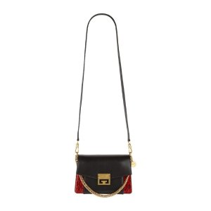 GivenchySmall Snakeskin GV3 Cross Body Bag