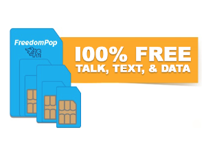 $0.99100% FREE Talk, Text, and 4G LTE Data w/ 3-in-1 SIM Kit @ FreedomPop