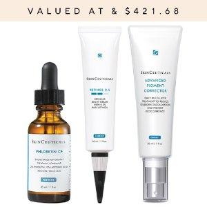 SkinCeuticals送8件套美白3件套(价值$421.68)