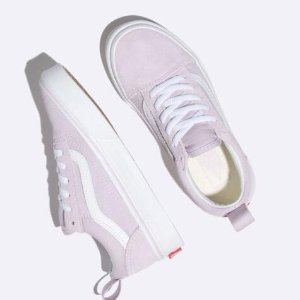 $25.18 太划算VANS Old Skool 薰衣草色女大童板鞋 小码妹纸可以入