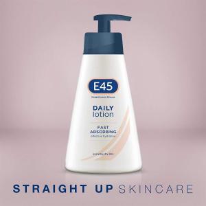 史低价:E45 英国国民万能保湿乳 5瓶装 专为鸡皮敏感肌设计