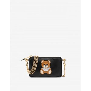 MoschinoShoulder bag Inside Out Teddy Bear - Womenswear Collection - SS21 COLLECTION - Moods - Moschino | Moschino Official Online Shop
