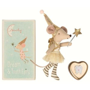 MAILEGTooth Fairy Big Sister Mouse Set