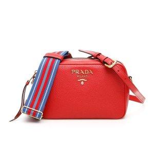 c3d6008a2b2b Prada Studded Strap Shoulder Bag. PradaLogo Camera Crossbody Bag