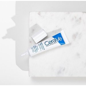 CeraVe焕活眼周 4%烟酰胺击退熬夜黑眼圈神酰 眼霜 14ml