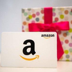 """免邮!人人都爱的礼物送礼犯愁?送""""钱""""最贴心 Amazon多样礼品卡 带精致铁盒包装"""
