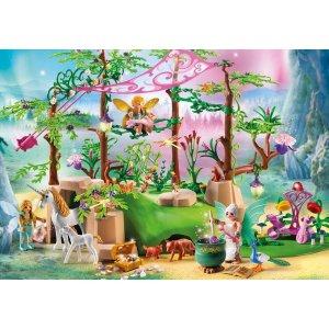 Playmobil仙子魔法森林