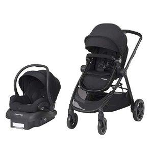 Maxi-Cosi Zelia 5-in-1 Modular Travel System Stroller and Mico 30 Infant Car Seat Set (Night Black) @ Amazon
