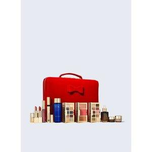 Estee Lauder满$120手动加入购物车换购32件套(共含9件正装)