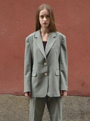 Single jacket Khaki | W Concept
