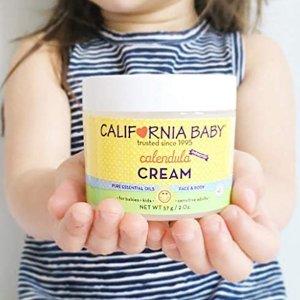 $32.99(原价$46.4)California Baby 金盏花宝宝护肤霜2盎司*2,医生推荐