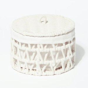 绳索收纳篮(23cm x 15cm)