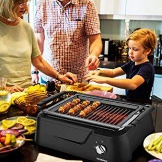 $119.99 羊肉串神器Tenergy 家用室内红外技术 无烟电烤盘