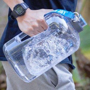 £9.99 王俊凯同款BOTTLED JOY 1加仑超大防漏水壶 喝水也要吨吨吨