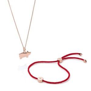 新春系列项链+红绳手链套组