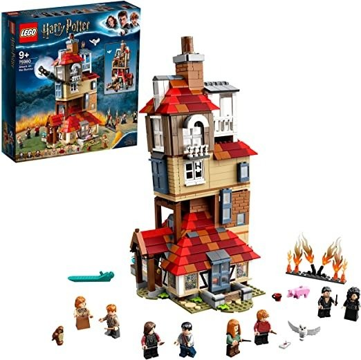 ® Harry Potter™ Attack on The Burrow 75980 Building Kit