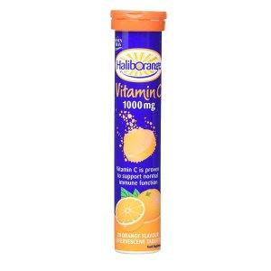 Haliborange泡腾片维生素C橙味 20片