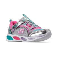 Skechers 女小童运动鞋