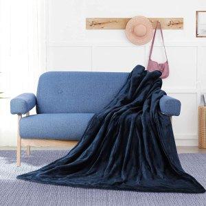 8.5折 €31.59(原价€36.99)MVPower 超柔软可以直接盖的电热毯 6挡调温可水洗