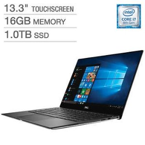 XPS 13 4K Touch i7 8550U 16GB 1TB SSD