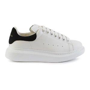 Alexander McQueen凑单$10,满$500立减$100黑尾小白鞋
