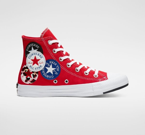 Logo Play Chuck Taylor All Star 帆布鞋