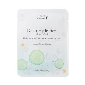 100PercnetPureDeep Hydration Sheet Mask