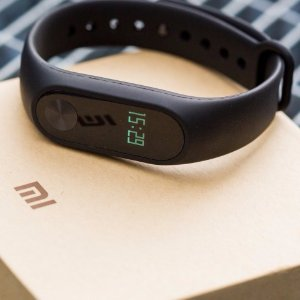 Xiaomi Mi Band 2 Heart Rate Monitor Smart Wristband (Black)