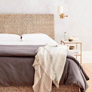7折收设计师定制床品 $208入经典床垫Allswell 全场高端床垫 设计师床品大促