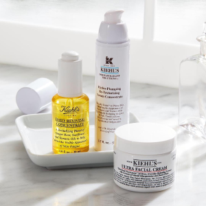 4 deluxe sampleson orders of $65 @ Kiehl's