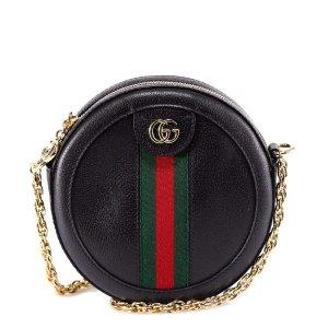 Gucci迷你圆饼包