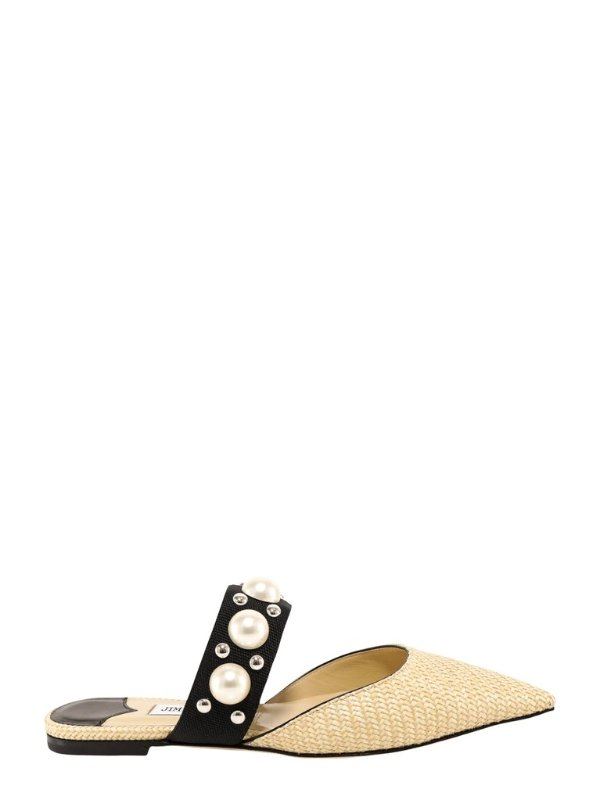 Basette珍珠单鞋
