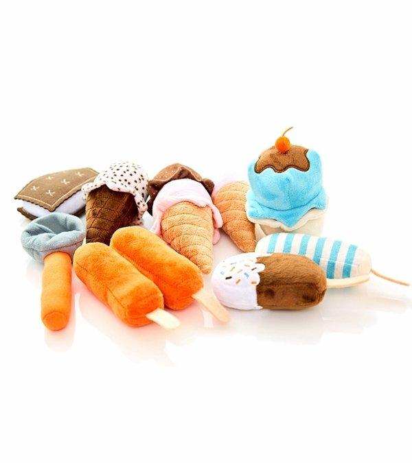 冰淇淋毛绒玩具套装