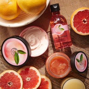 FREE Peach Shower Gel + 30% offwith $50 purchase @ The Body Shop