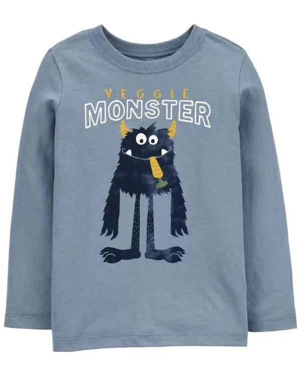 小童怪兽T恤