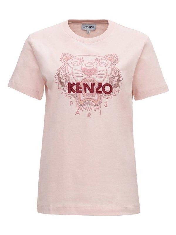 虎头T恤 樱花粉