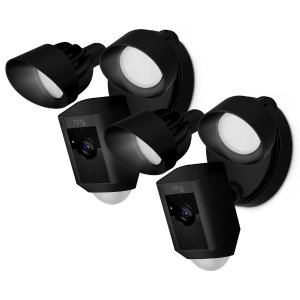 2 for $348, 3 for $485Ring Outdoor Wi-Fi Cam with Motion Activated Floodlight