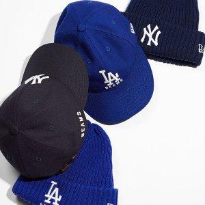 低至7折+额外8.5折NEW ERA 超全款棒球帽来袭 洋基队logo配色全